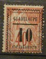 "GUADELOUPE - N° 7 - Neuf * -  Variété : Fleurons Type I ( Maury ) - ""centimes"" = 12 Mm - TB - - Unclassified"