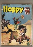 B D. MENSUEL  HOPPY  N° 1  PETIT FORMAT - Piccoli Formati