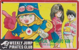 TC Japon / 110-011 - MANGA - WEEKLY JUMP PIRATES CLUB - MAGICAL TARURU - ANIME Japan Phonecard - 11005 - BD