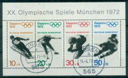 BRD 1971 / MiNr.  Block 6  Solingen   O / Used  (r1115) - [7] República Federal