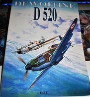 Rare Livre Dewoitine D520  98 Pages Livre En Français Et Anglais - 1939-45