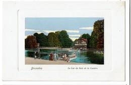 Bruxelles - Le Lac Du Bois De La Cambre - Carte Aquarellée - Félix Cohn 09 7574 - Etat Neuf !  - 2 Scans - Forêts, Parcs, Jardins