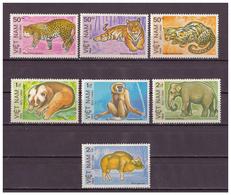 Vietnam, Geschützte Tiere| Animals MiNr. 1410 - 1416, 1984** MNH - Vietnam