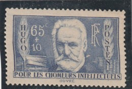 ///   FRANCE - N° 439  Chomeurs Intellectuels Côte** 32.€ - Unused Stamps