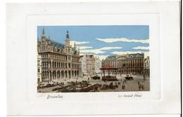 Bruxelles - La Grand' Place - Marché Aux Fleurs - Carte Aquarellée - Félix Cohn 09 7575 - Etat Neuf !  - 2 Scans - Places, Squares