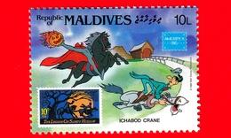 Nuovo - MNH - MALDIVE - 1986 - W. Disney - Ameripex '86 - Cartoni Animati - Fumetti - Ichabod Crane - 10 - Maldivas (1965-...)