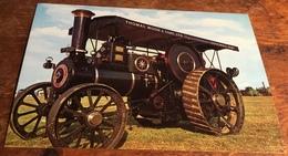 """TAM""  Burrell General Purpose Traction Engine No. 3586 - Postcards"