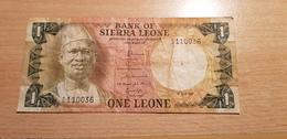 Sierra Leone 1 Leone 1981 - Sierra Leone