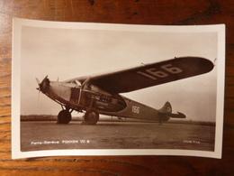 Paris-Genève Et Paris-Bâle De La Cie SWISSAIR - FOKKER VII B - Moteurs Wright - Avions