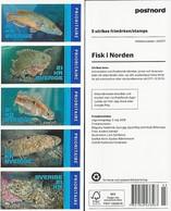 SUECIA/ SWEDEN/ SCHWEDEN/ SVERIGE/ SUÈDE - NORDEN 2018. -FISHES SPECIES Of The NORTH.- BOOKLET ** - Suecia