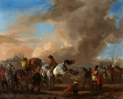 @@@ MAGNET - Philips Wouwerman, The Horse Market - Publicitaires