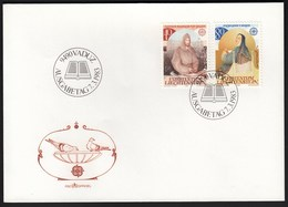 Liechtenstein 1983 / Europa CEPT / Notker Balbulus Of St Gall / Hildegard Of Bingen / FDC - 1983