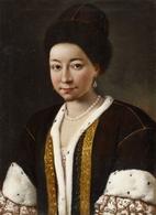 @@@ MAGNET - Pietro Antonio Conte Rotari, Circle Of, Portrait Of A Russian Lady - Publicitaires