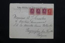 ESPAGNE - Enveloppe Commerciale De Las Palmas Pour La Belgique En 1928 , Affranchissement Plaisant - L 24881 - 1889-1931 Royaume: Alphonse XIII