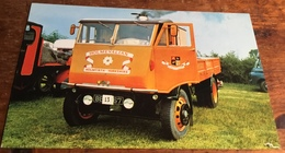 Sentinel S4 Steam Waggon.  Works No. 9075 Regd. No. Bev 467.  Built 1934 - Postcards
