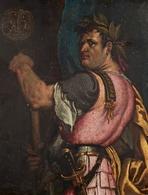 @@@ MAGNET - Portrait Of The Roman Emperor Vespasian - Publicitaires