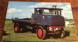 Sentinel Steam Waggon.  Works No. 8571.  Regd. No. KF 6482.  Built 1931 - Postcards