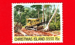 Nuovo - MNH - CHRISTMAS ISLAND  Isola Di Natale - 1980 - Industria Chimica - Phosphate - Jungle Clearing - 15 - Christmas Island