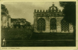 ETHIOPIA - AXUM - IL TEMPIO COPTO / THE TEMPLE COPTO - EDIT BOERI - 1930s ( BG2744) - Ethiopie
