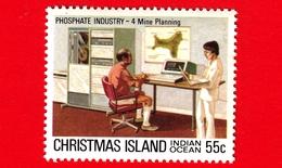 Nuovo - MNH - CHRISTMAS ISLAND  Isola Di Natale - 1980 - Industria Chimica - Phosphate - Mine Planning - 55 - Christmas Island