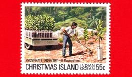 Nuovo - MNH - CHRISTMAS ISLAND  Isola Di Natale - 1980 - Industria Chimica - Phosphate - Restoration - 55 - Christmas Island