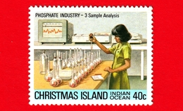 Nuovo - MNH - CHRISTMAS ISLAND  Isola Di Natale - 1980 - Industria Chimica - Phosphate - Sample Analysis - 40 - Christmas Island