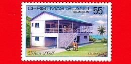 Nuovo - MNH - CHRISTMAS ISLAND  Isola Di Natale - 1980 - Sport - 25 Anni Di Golf - Clubhouse - 55 - Christmas Island