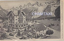 74 LES BOSSONS GRAND HÔTEL DU PANORAMA  VALLEE DE CHAMONIX MONT BLANC - Chamonix-Mont-Blanc