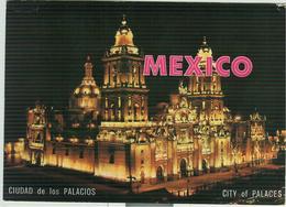 MEXICO - La Catedral De Mexico -COLORE - 1991 - RAVENNA - ITALIA - Messico