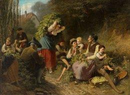 @@@ MAGNET - Rudolf Epp, The Hop Harvest - Publicitaires
