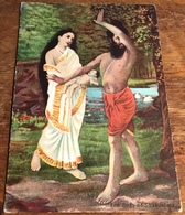 The Birth Of Shakuntala ~ (Victorian Postcard) - Fairy Tales, Popular Stories & Legends