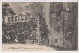 ALAN  Galerie Et Porte De L'Ancien Evêché Et 3 Autres Cartes D'Alan. - Autres Communes