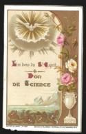 Image Religieuse Dorée LETAILLE PI4016 BOUMARD Les Dons Du St Esprit Don De Science 5 - Mitteilung