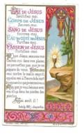 Image Religieuse Dorée Bouasse Ame De Jésus Sanctifiez-moi......      29 12 1877      12 - Mitteilung