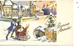 MIGNONNETTE BONNE ANNEE FORMAT 7X11 CM  CHARME 41/6 - Nouvel An