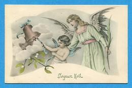 Noel Weihnachten Christmas Anges Cloche Vienne - Angeli