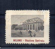 Italia - ERINNOFILO - Milano - Stazione Centrale - Vedi Foto - (FDC14441) - Vignetten (Erinnophilie)