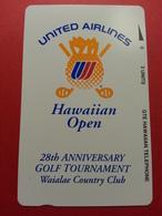 Hawaii HAW-PT-05 1993 3u 28th Hawaiian Open Golf Tournament United Airlines 1000 Ex GTE MINT (CB1217) - Hawaï