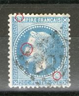 """N° 29°-II-""""E"""" Relié Filet_nez écorché_petite Griffe - 1863-1870 Napoléon III Lauré"""