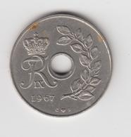 @Y@    Denemarken   25 Ore    1967     (4679) - Denemarken