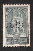Perforé/perfin/lochung France No 259 O.B.C.  O. Beraudy Et Cie - Perforés