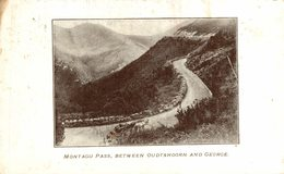 MONTAGU PASS BETWEEN OUDTSHOORN AND GEORGE    AFRIQUE DU SUD  SOUTH AFRICA - Sudáfrica