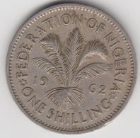 @Y@    Nigeria  1 Shilling  1962    (1113) - Nigeria
