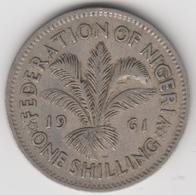 @Y@    Nigeria  1 Shilling  1961    (1114) - Nigeria