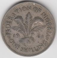 @Y@    Nigeria  1 Shilling  1961    (1115) - Nigeria