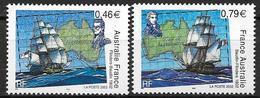 France 2002 N° 3476/3477 Neufs France Australie à La Faciale - France