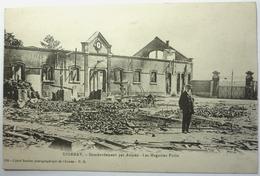 BOMBARDEMENT PAR AVIONS - LES MAGASINS POTIN - ÉPERNAY - Epernay