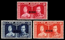1937 Niue (3) Set - Niue