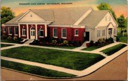 Mississippi Hattiesburg Mississippi Civic Center 1941 - Hattiesburg