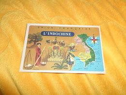 CHROMO OU IMAGE ANCIENNE DATE ?.../ UNION FRANCAISE L'INDOCHINE./ LION NOIR.. - Trade Cards